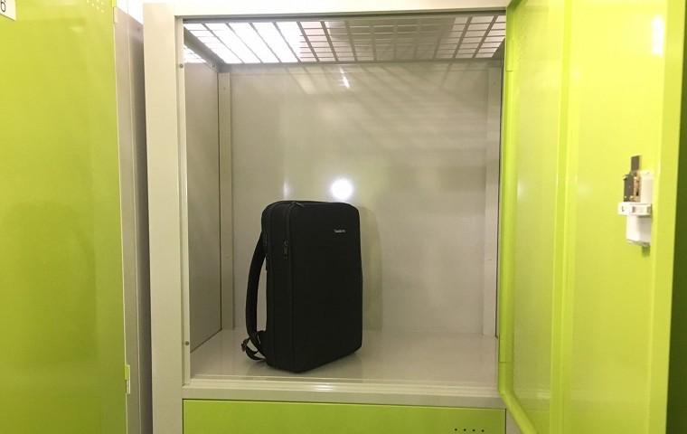 シートランクルーム 室内 ロッカー